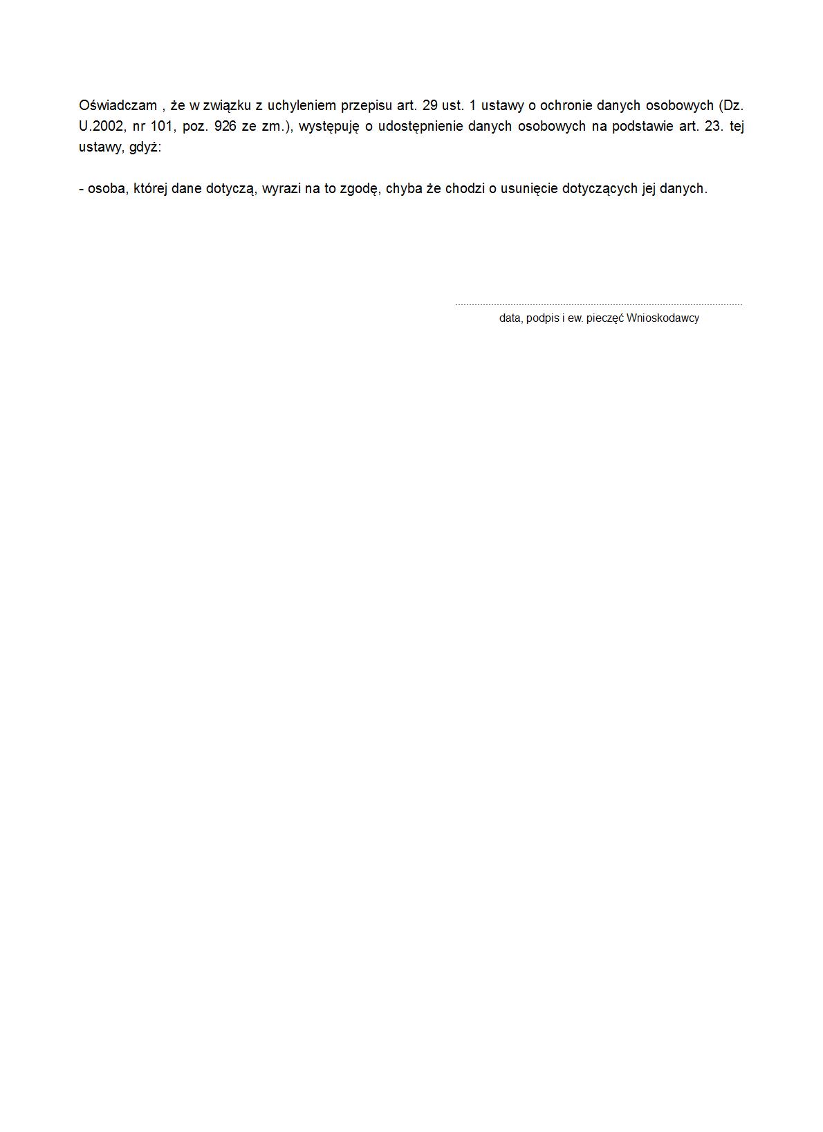 97aa718db0eb80 WoUD-DO Wniosek o udostępnienie | druk, formularz online