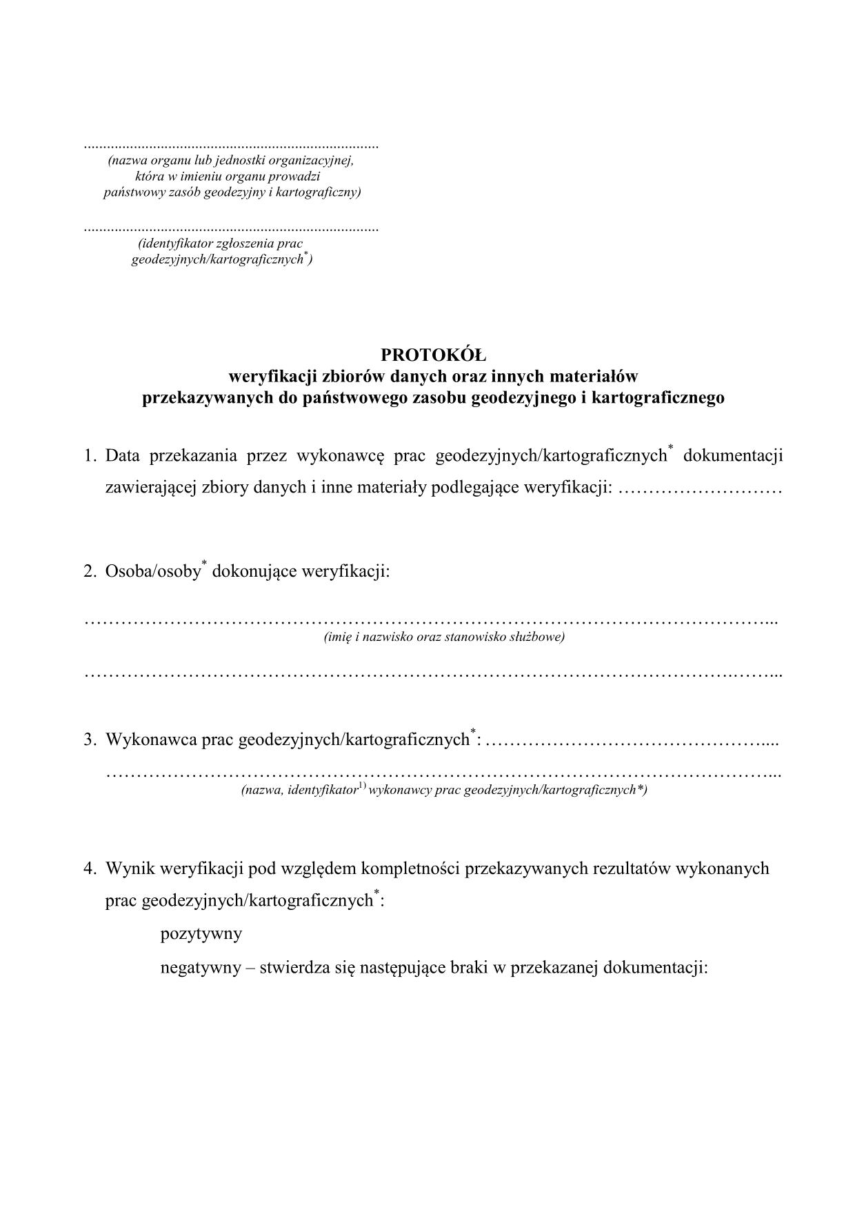 a5b77a8b7712ff PWZD Protokół weryfikacji zbiorów | druk, formularz online